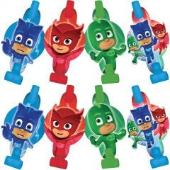 PJ Masks Party Blowers (Pack of 8)