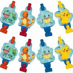 Pokemon Classic Party Blowers (Pack of 8)