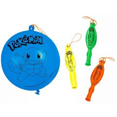 Pokemon Classic Punch Ball Balloons (Pack of 4)