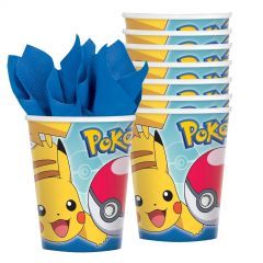 Pokemon Core Paper Cups (Pack of 8)