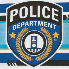 Police Party Large Napkins / Serviettes (Pack of 16)