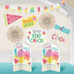 Just Chillin Stay Cool Summer Room Decorating Kit