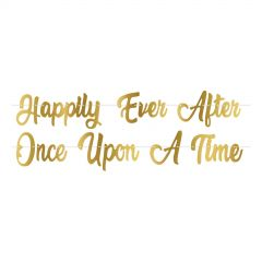 Once Upon A Time Fairytale Letter Banner