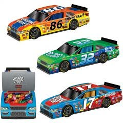 Racing Car 3D Table Centrepieces (Pack of 3)