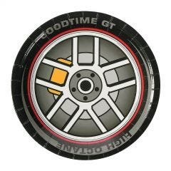 Race Car Birthday Small Paper Plates (Pack of 8)