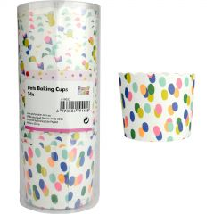 Rainbow Dots Baking Cups (Pack of 24)