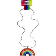 Rainbow Bling Necklace
