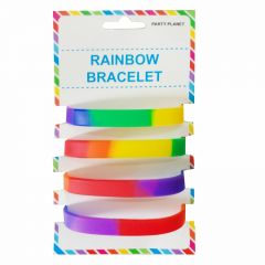 Rainbow Wristbands (Pack of 4)