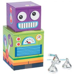 Robot Party Favour Boxes (Pack of 12)