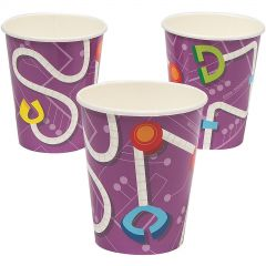 Robot Party Paper Cups (Pack of 8)