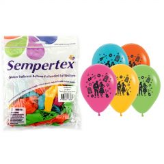 Rock-n-Roll Assorted Balloons Pack of 25