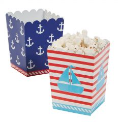 Mini Sailor Birthday Treat Boxes (Pack of 24)