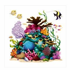 Coral Reef Wall Decoration