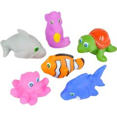 Sea Life Squirt Toys (Pack of 12)