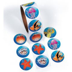 Sealife Stickers (Roll of 100)