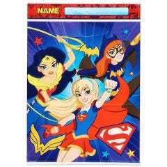 Super Hero Girls Lolly/Treat bags (Pack of 8)