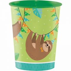 Sloth Party Large Plastic Cup