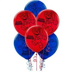 Super Mario Bros. Balloons (Pack of 6)