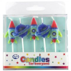 Space Mini Candles (Set of 5)