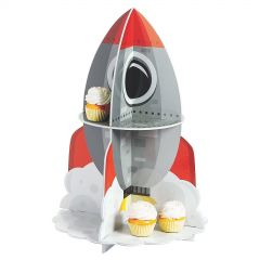 Space Rocket Cupcake Stand