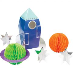 Space Party Centrepieces (Set of 6)