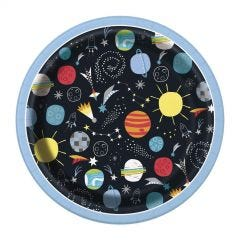 Space Party Large Paper Plates (Pack of 8)