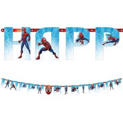 Ultimate Spiderman Add An Age Banner Kit