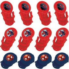 Ultimate Spiderman Disc Shooters (Pack of 12)