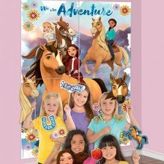 Spirit Riding Free Scene Setter with Photo Props