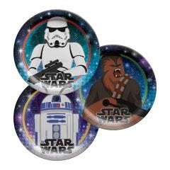 Star Wars Galaxy Small Paper Plates (Pack of 8)