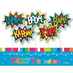 Superhero Cake Toppers (Pack of 3)