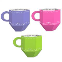 Teacup Favour Boxes (Pack of 3)