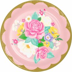 Rainbow Fairy Large Paper Plates (Pack of 6)