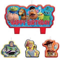 Toy Story Power Up Candles (Set of 4)
