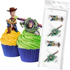 Toy Story Edible Wafer Cupcake Toppers (Pack of 16)