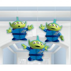 Toy Story Power Up Honeycomb Decorations (Pack of 3)
