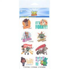 Toy Story Power Up Tattoos (1 Sheet)