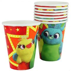 Toy Story Power Up Paper Cups (Pack of 8)