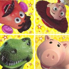 Toy Story Power Up Large Napkins / Serviettes (Pack of 16)