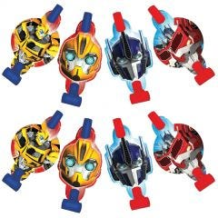 Transformers Party Blowers (Pack of 8)