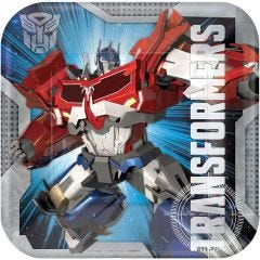 Transformers Large Paper Plates (Pack of 8)