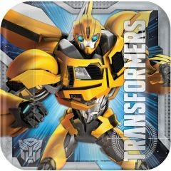 Transformers Small Paper Plates (Pack of 8)