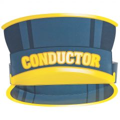 Train Conductor Party Hats (Pack of 8)