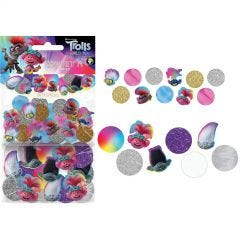 Trolls World Tour Jumbo Confetti/Table Scatters (48 Pieces)