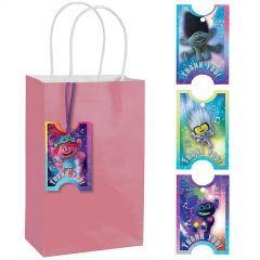 Trolls World Tour Thank You Gift Tags (Pack of 8)