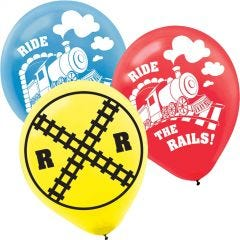 Thomas The Tank Engine All Aboard Balloons (Pack of 6)