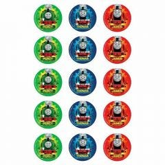 Thomas the Tank Engine Edible Cupcake Decorations (Pack of 15)