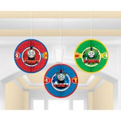 Thomas The Tank Engine All Aboard Honeycomb Decorations (Pack of 3)