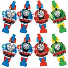 Thomas The Tank Engine All Aboard Party Blowers (Pack of 8)