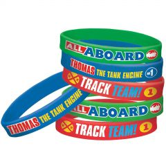 Thomas The Tank Engine Wristbands (Pack of 4)